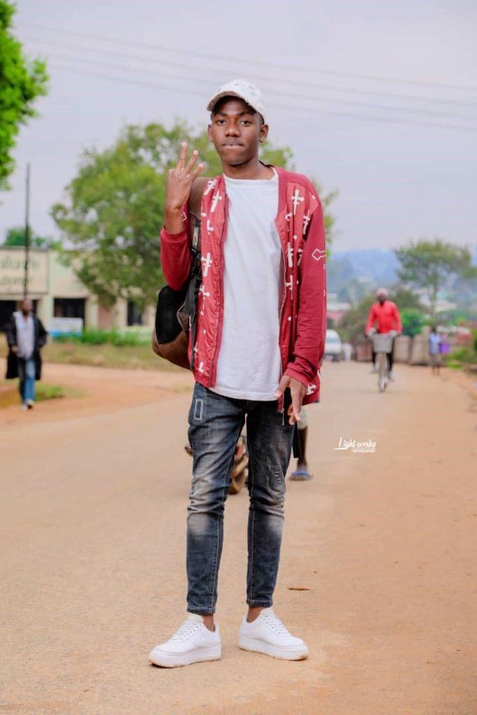 Arron a Malawi Student